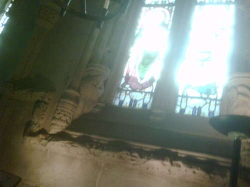 Rosslyn Chapel  Window
